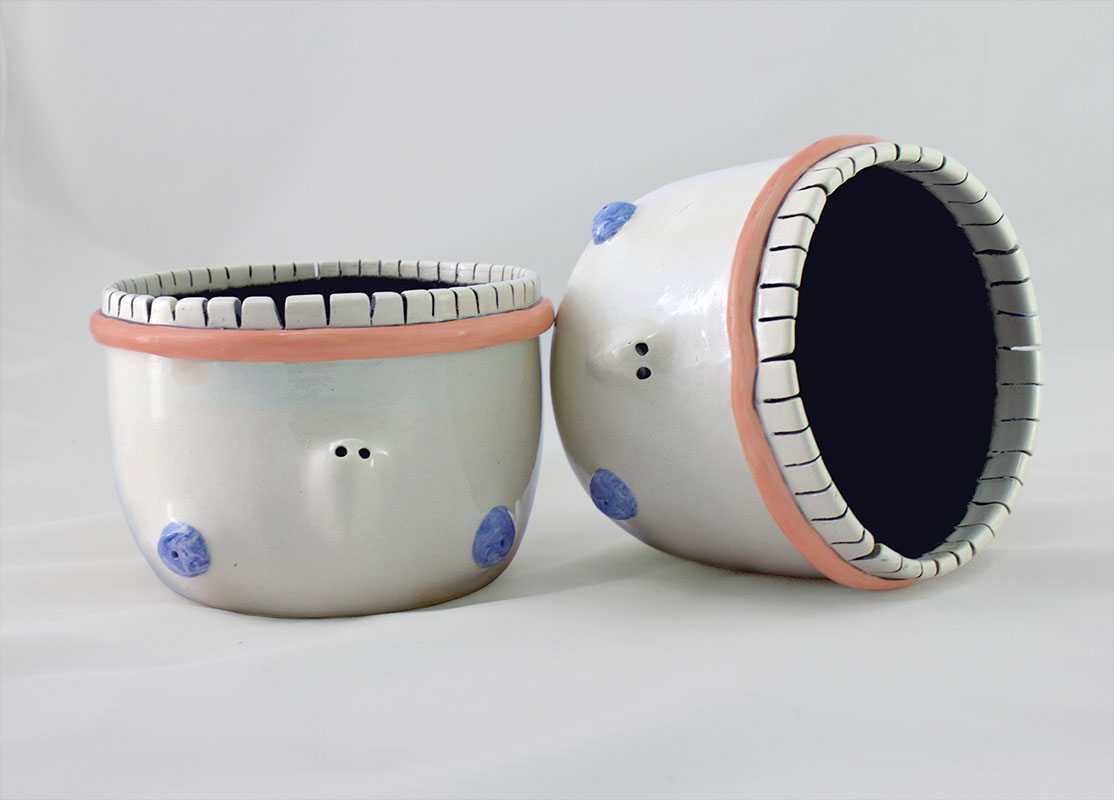 Face Planters with Teeth